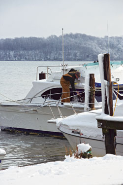 After the Nation's Cold Snap, Boat Owners Should Check the Boat